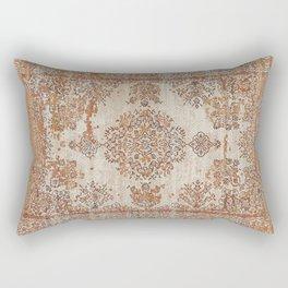 Oriental Vintage Carpet Design Rectangular Pillow