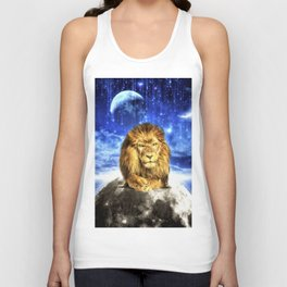 Grumpy Lion Unisex Tank Top