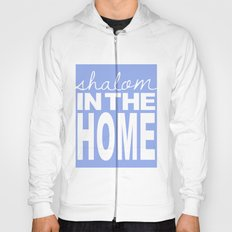 Shalom in the Home, lavender Hoody