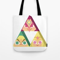 triforce Tote Bags featuring triforce! by Spencer Duffy