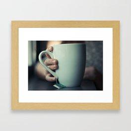 tea time. Framed Art Print