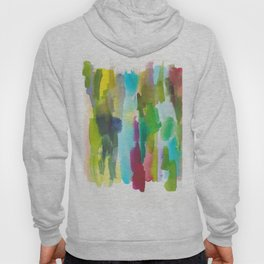 180812 Abstract Watercolour Expressionism 2   Colorful Abstract   Modern Watercolor Art Hoody