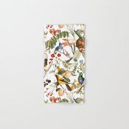 Floral and Birds XXXII Hand & Bath Towel