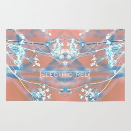 ELECTRIC RED Rug