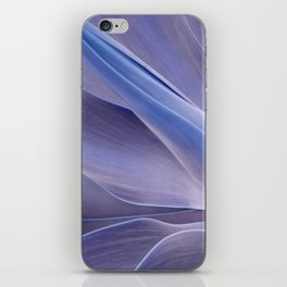 Shades of Lilac Agave Attenuata  iPhone Skin