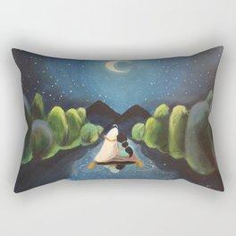Aladdin and Jasmine Rectangular Pillow