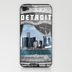 The Big Show - Detroit, Michigan iPhone & iPod Skin