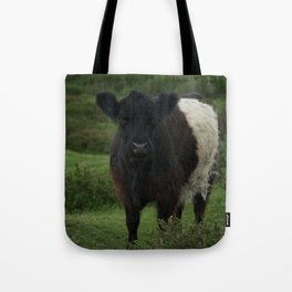 Belted Galloway Cow Tote Bag