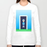portal Long Sleeve T-shirts featuring Portal by Nick's Pix