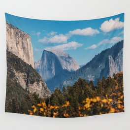 Yosemite in Fall Wall Tapestry