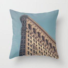 Flatiron - NYC Throw Pillow