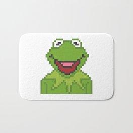 Kermit The Muppets Pixel Character Bath Mat