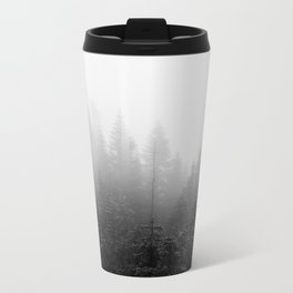 Foggy Hike Metal Travel Mug
