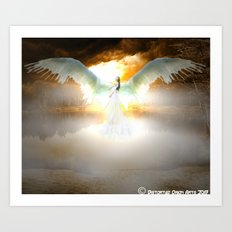 Angelic Maiden Art Print