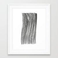 birch Framed Art Prints featuring Birch by ilyya