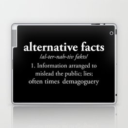 Alternative Facts Laptop & iPad Skin