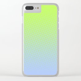 Runners Halftone Clear iPhone Case