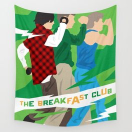 80s TEEN MOVIES :: THE BREAKFAST CLUB Wall Tapestry