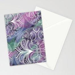 Mandala lace Stationery Cards