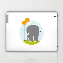 An Elephant With a Peanut Balloon Laptop & iPad Skin
