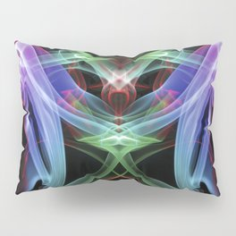 9109 Spirit Work by Chris Maher Unique Sensual Photographs of Smoke, Fire and Water Pillow Sham