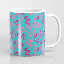 Squiggles Pattern Coffee Mug