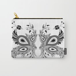 Peacock – Grey Palette Carry-All Pouch