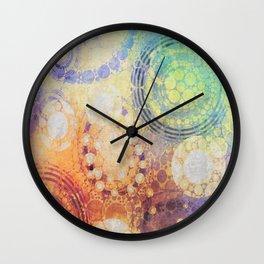 Circles Carnival Wall Clock