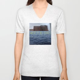 Fools Rush In (Where It All Starts) Unisex V-Neck