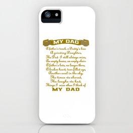 My Dad iPhone Case