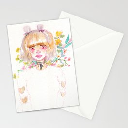Harajuku Flowers Stationery Cards