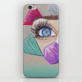 Through your eyes iPhone Skin