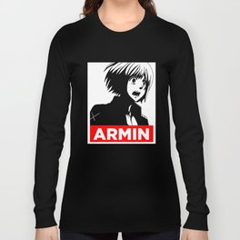 Shingeki No Kyojin Armin Propaganda Long Sleeve T-shirt