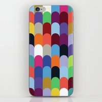 onward iPhone & iPod Skins featuring Onward Series: Soirée by Designer Ham