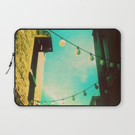Valley Laneway in Lights  Laptop Sleeve