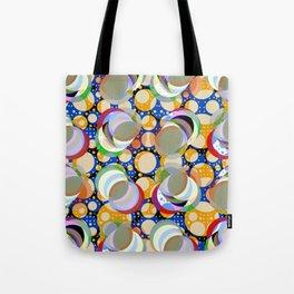 Circle Insanity Multicolored Tote Bag