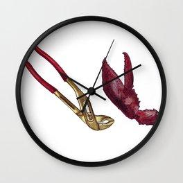 tongs Wall Clock