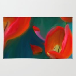 Tulips in May Rug
