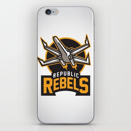 Republic Rebels iPhone Skin