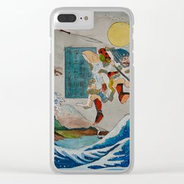 Tadatsune's Journey to Mount Fuji Clear iPhone Case