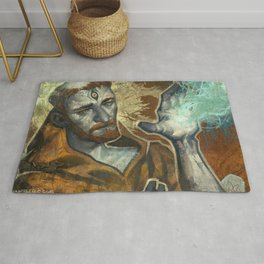 Saint Francis Revisited Rug