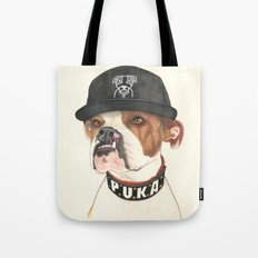 Boxer dog - F.I.P. - @chillberg (#pukaismyhomie)  Tote Bag