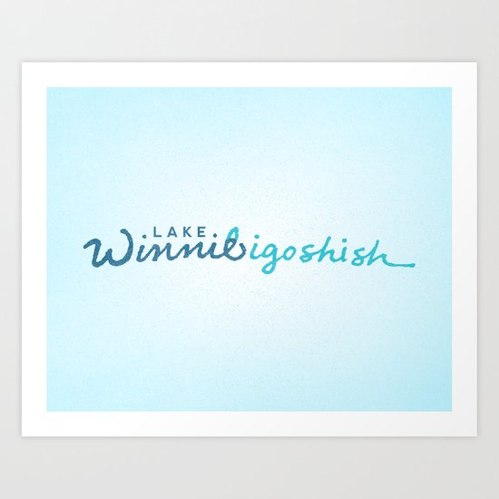 Lake Winnibigoshish Art Print