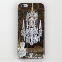 chandelier iPhone & iPod Skins featuring Chandelier by Melinda Downing
