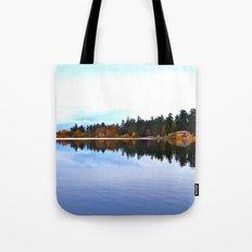 Northwest lake Tote Bag