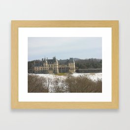 Snow on the Biltmore 2 Framed Art Print