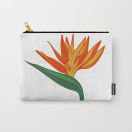 Bird of Paradise illustration Carry-All Pouch