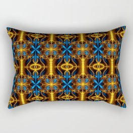 Colorful psychedelic Rectangular Pillow