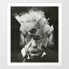 Albert E Mix 2 Art Print