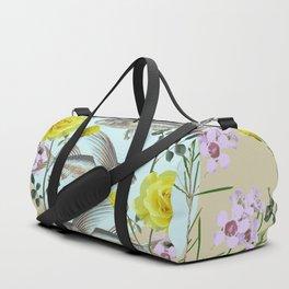 Floral Fishies Duffle Bag